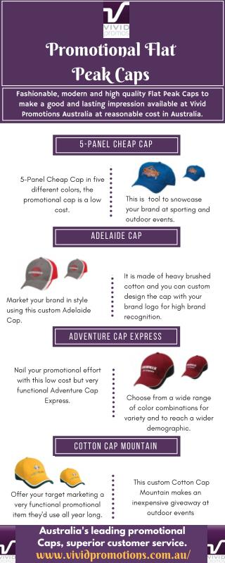 Infographic About Cheap Caps at Vivid Promotions