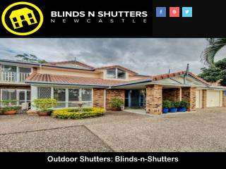 Outdoor Shutters: Blinds-n-Shutters