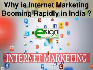 Best Scope of Internet Marketing Service in India