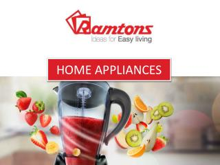 Buy Small Home And Kitchen Appliances Online
