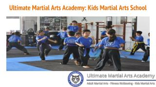 Ultimate Martial Arts Academy: Kids Martial Arts School