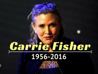 Carrie Fisher: 1956-2016