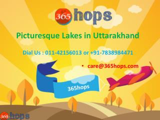 Picturesque Lakes in Uttarakhand