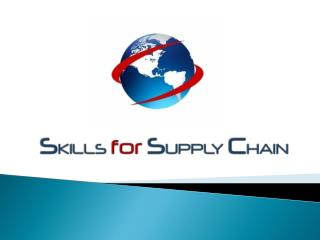 Know More About Supply Chain Courses