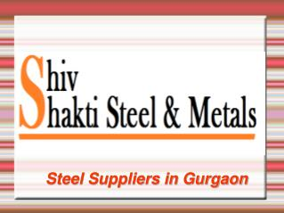 Best Steel Suppliers in Gurgaon