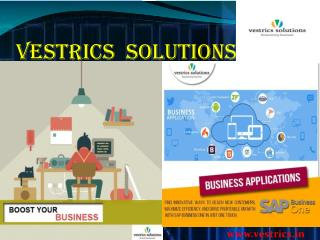 Ecommerce Solution Integration with Sap - Vestrics