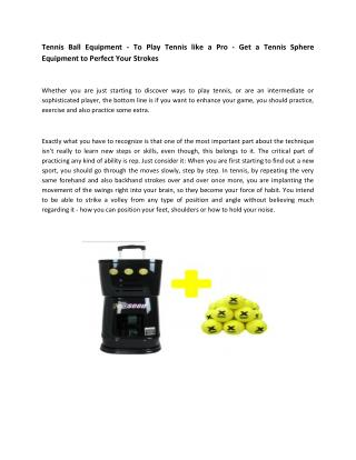 Shop best Tennis Ball Machines online – Top Seed Sports