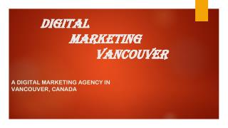 Digital Marketing Vancouver