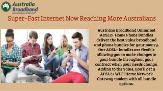 Super-Fast Internet Now Reaching More Australians
