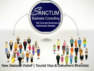Apply for New Zealand Tourist or Visit Visa With Sanctum Consulting