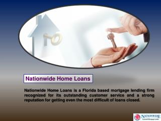 Conventional Mortgage Loans Fort Lauderdale