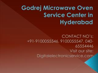 Godrej Microwave Oven Service Center in Hyderabad