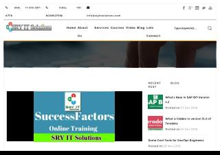 The Future Workforce one step ahead with SAP SuccessFactors