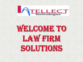 Law Firm Solutions