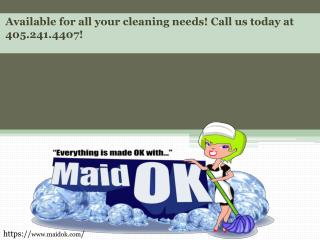 Edmond Cleaning Services
