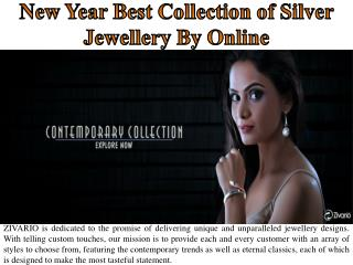 New Year Best Collection of Silver Jewellery By Online
