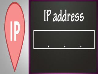 What You Mean By IP Address?