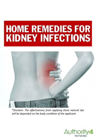 How to cure Kidney Infections without medicine