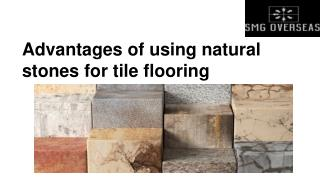 Advantages of using Natural Stones