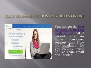 Best DreamHost Web Hosting Online