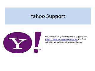 Find premium  yahoo technical support