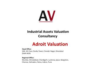 Industrial Assets Valuation Consultancy