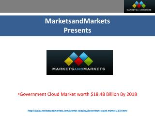 Government Cloud Market By Agency, Delivery & Deployment