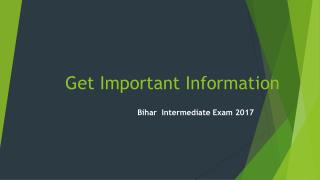Get Important Information About Bihar Intermediate Date Sheet 2017