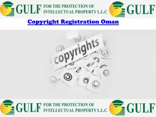 Copyright Registration Oman