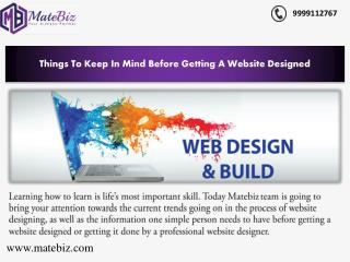 Fully Customized Website