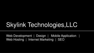 Skylink Technologies,LLC