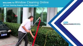 Window Cleaning Supplies