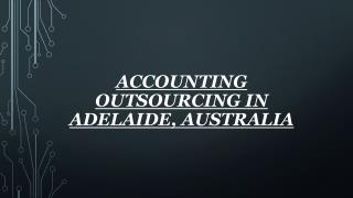 Accounting Outsourcing in Adelaide, Australia