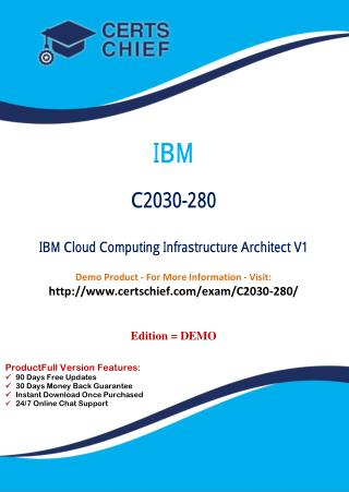 C2030-280 Certification Dumps with PDF Answers