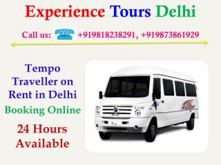 Luxury Tempo Traveller on Rent, Hire online 20 seater tempo traveller booking
