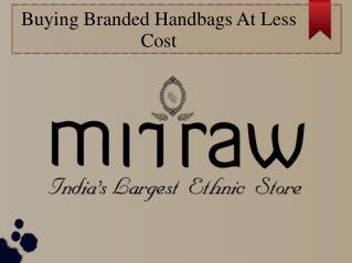 Find A Designer Handbag At Low Price