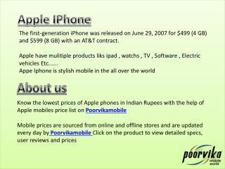 Apple iPhone 7 Plus 128GB Jet Black (GSM) AT&T - Poorvika