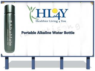 Characteristics Of Portable Alkaline Water Bottle