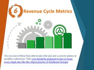 6 Revenue cycle metrics you must be tracking