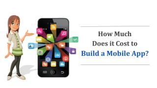 mobile app development cost breakdown