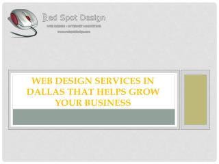 Web Design Services in Dallas