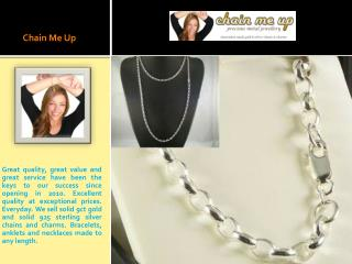 Solid Silver - Solid Silver Necklaces For Sale