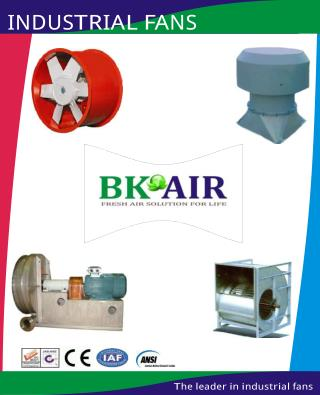 Industrial Fan manufacturer & supplier in India