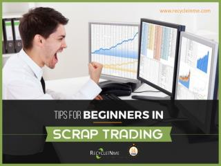 How to Run a Scrap Business like a Pro