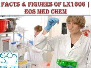 Facts & Figures of lx1606 | EOS MED CHEM