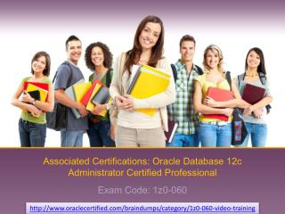 How I can pass oracle 1z0-060 certification exam