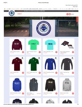 Best College Merchandise Company in India