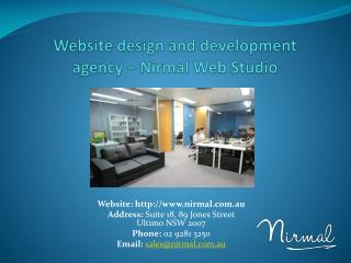 Nirmal Web Studio