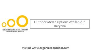 Haryana Advertisement | Hoardings in India