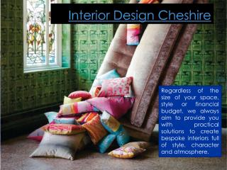 Cheshire Interior Design